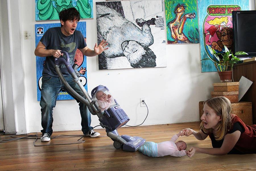 Vacuum Mishap by Brett Gilbert