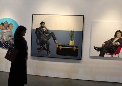 DiverseLA art - Janice at LA Art Show 2020