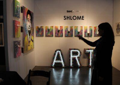 Kobe2 with Janice @ LA Art Show 2020
