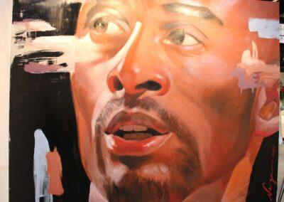 Kobe Bryant was celebrated at LA Art Show 2020