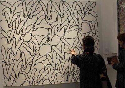 Bunny's at LA Art Show