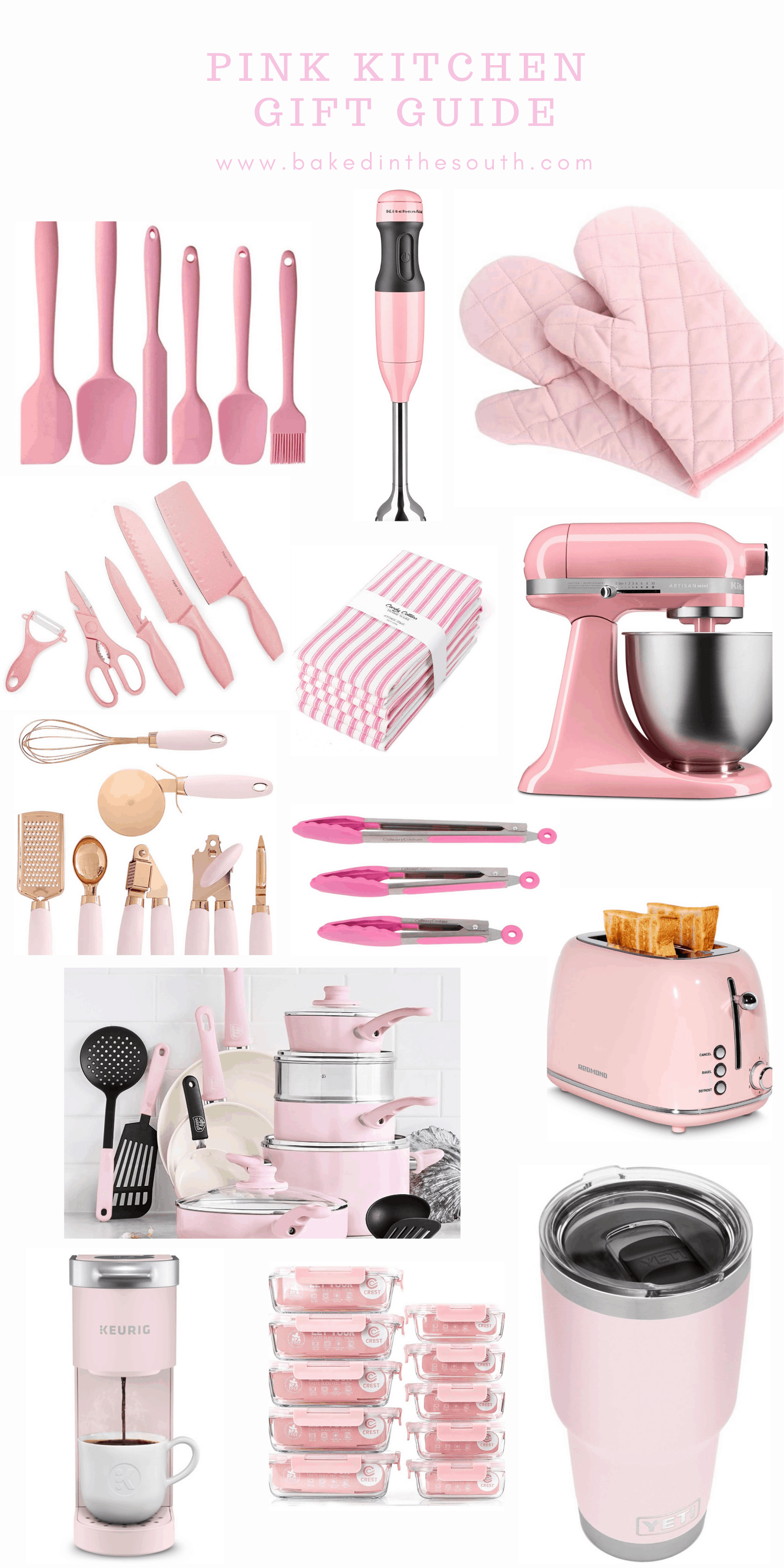 Pink Kitchen Gift Guide