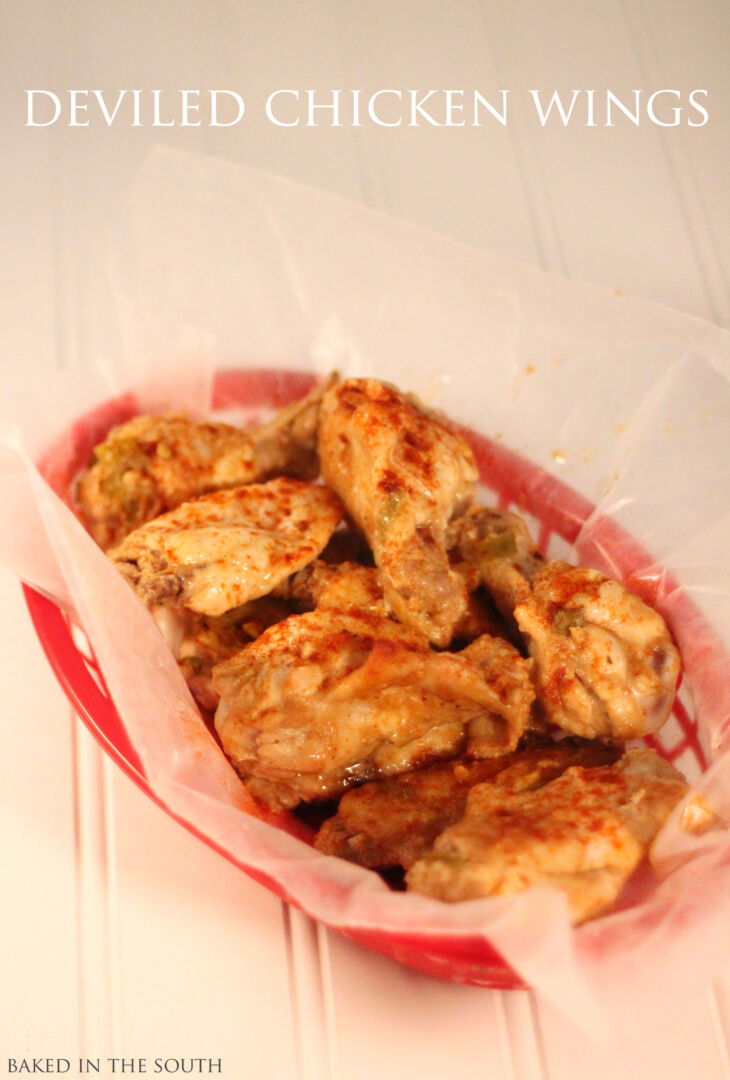 Game Day Deviled Chicken Wings