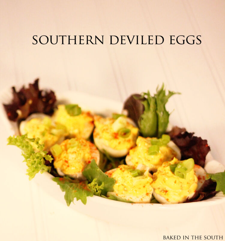 Paula Deen's Traditional Southern Deviled Eggs