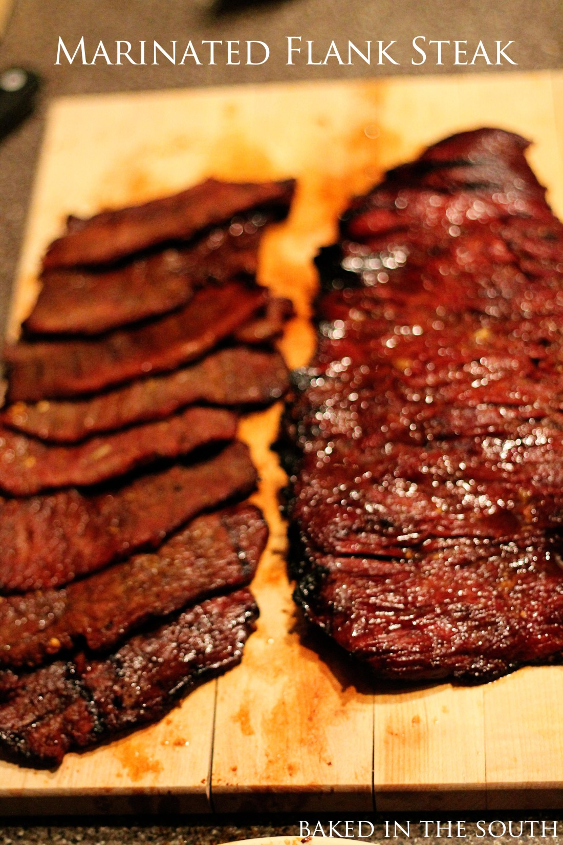 Citrus Marinated Flank Steak   Baked In The South