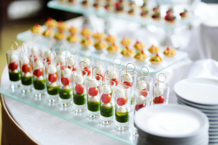 Hors d'Oeuvres Menu-Catering Tampa