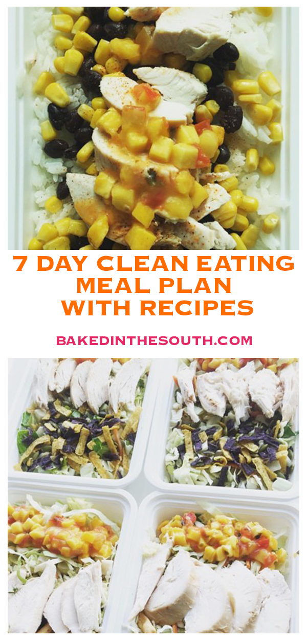7 DAY CLEAN EATING MEAL PLAN WITH RECIPES