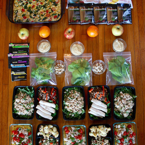 90 Minute Meal Prep Shopping List