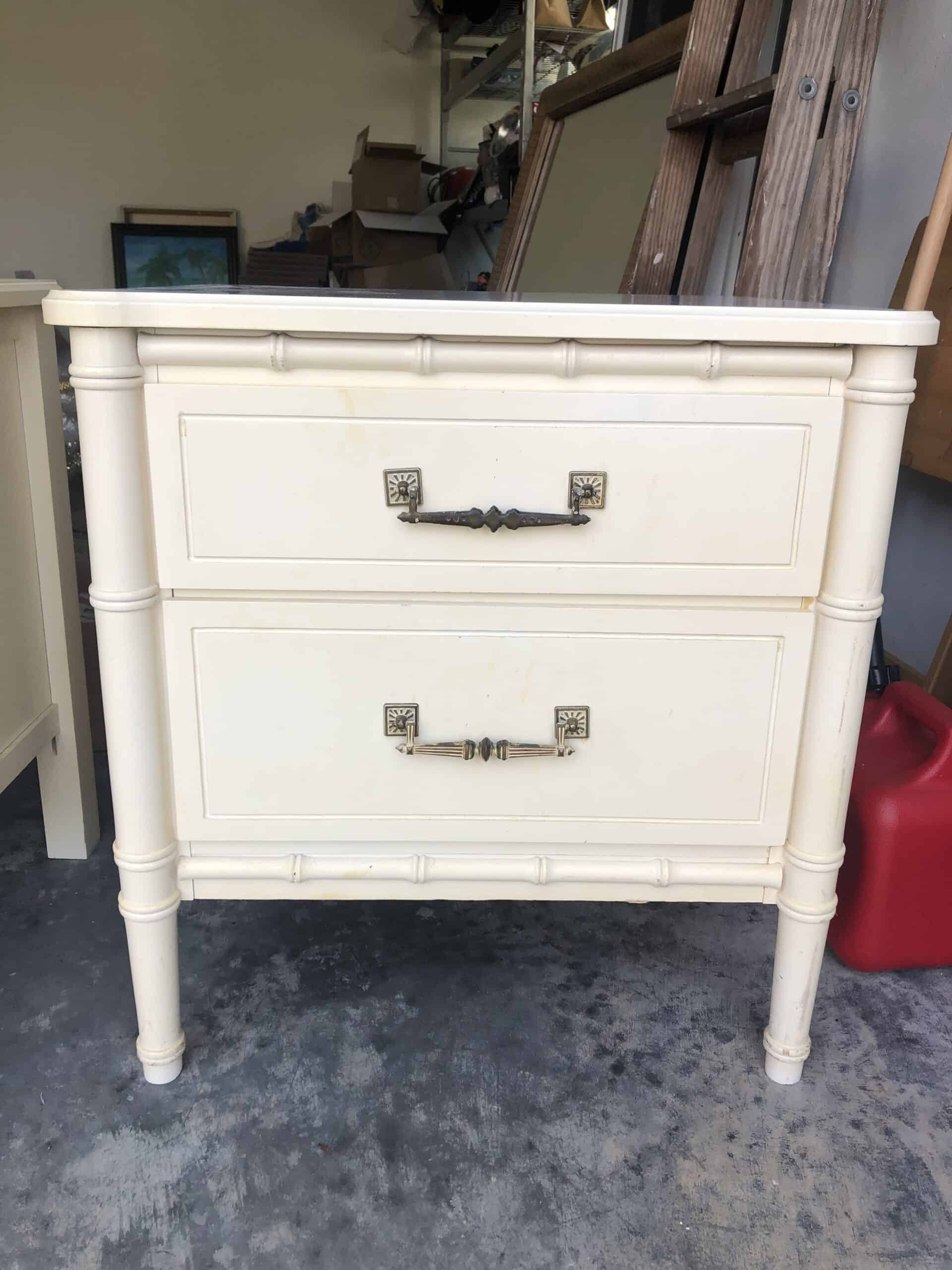How to paint high gloss furniture
