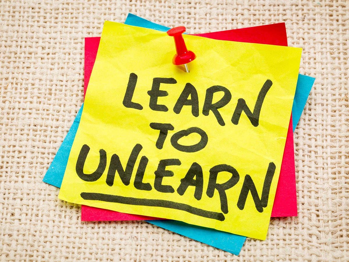 The Process of Unlearning