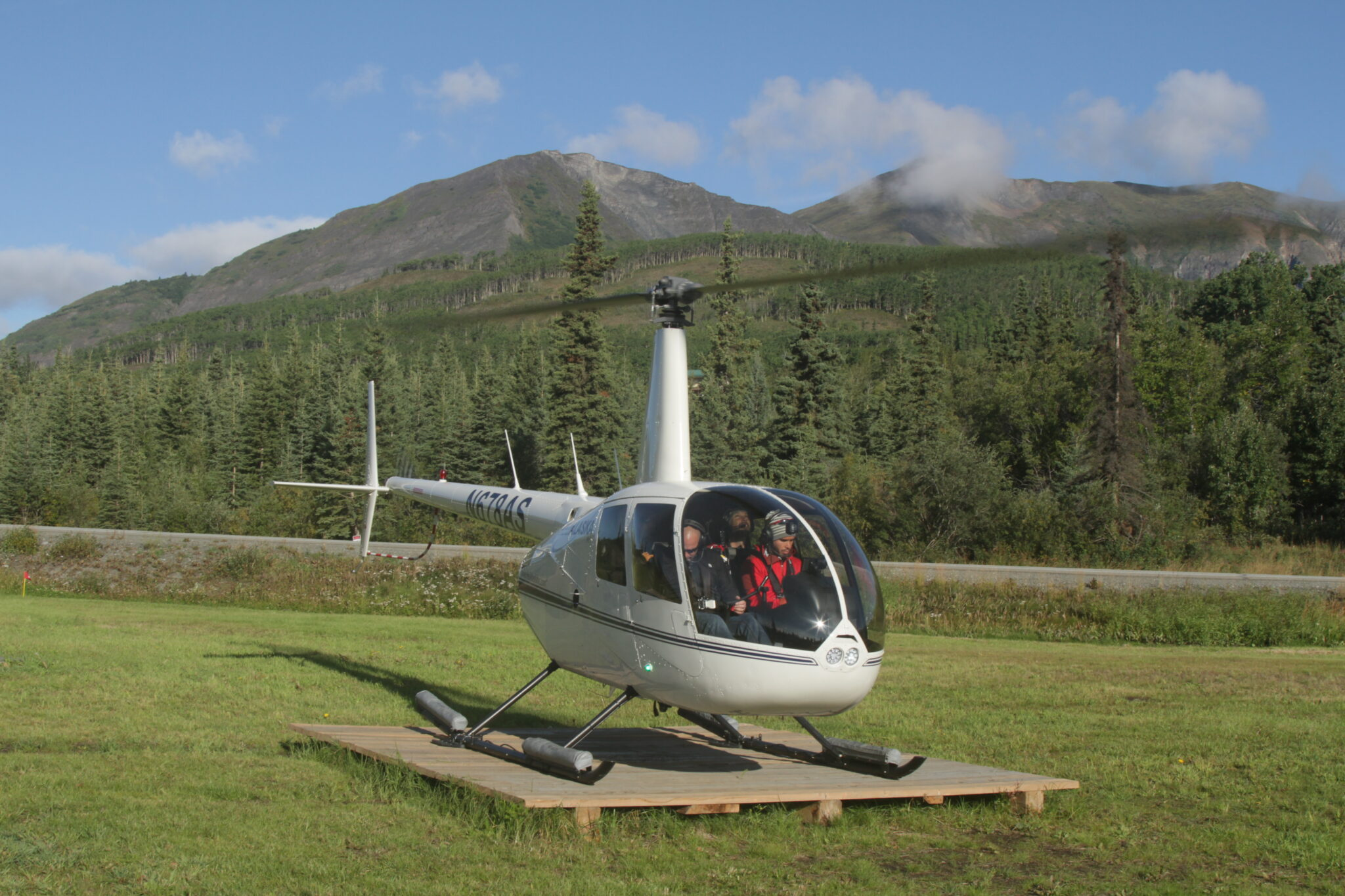 Helicopter Hike