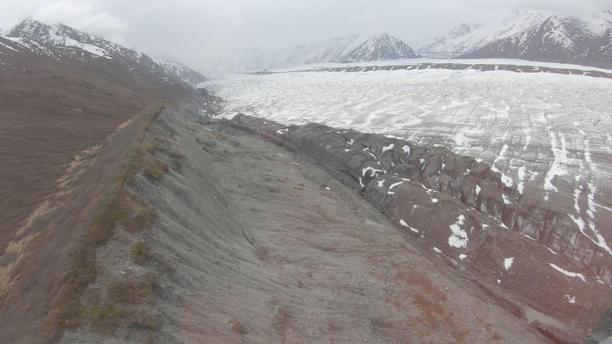 Glacier Features on Matanuska