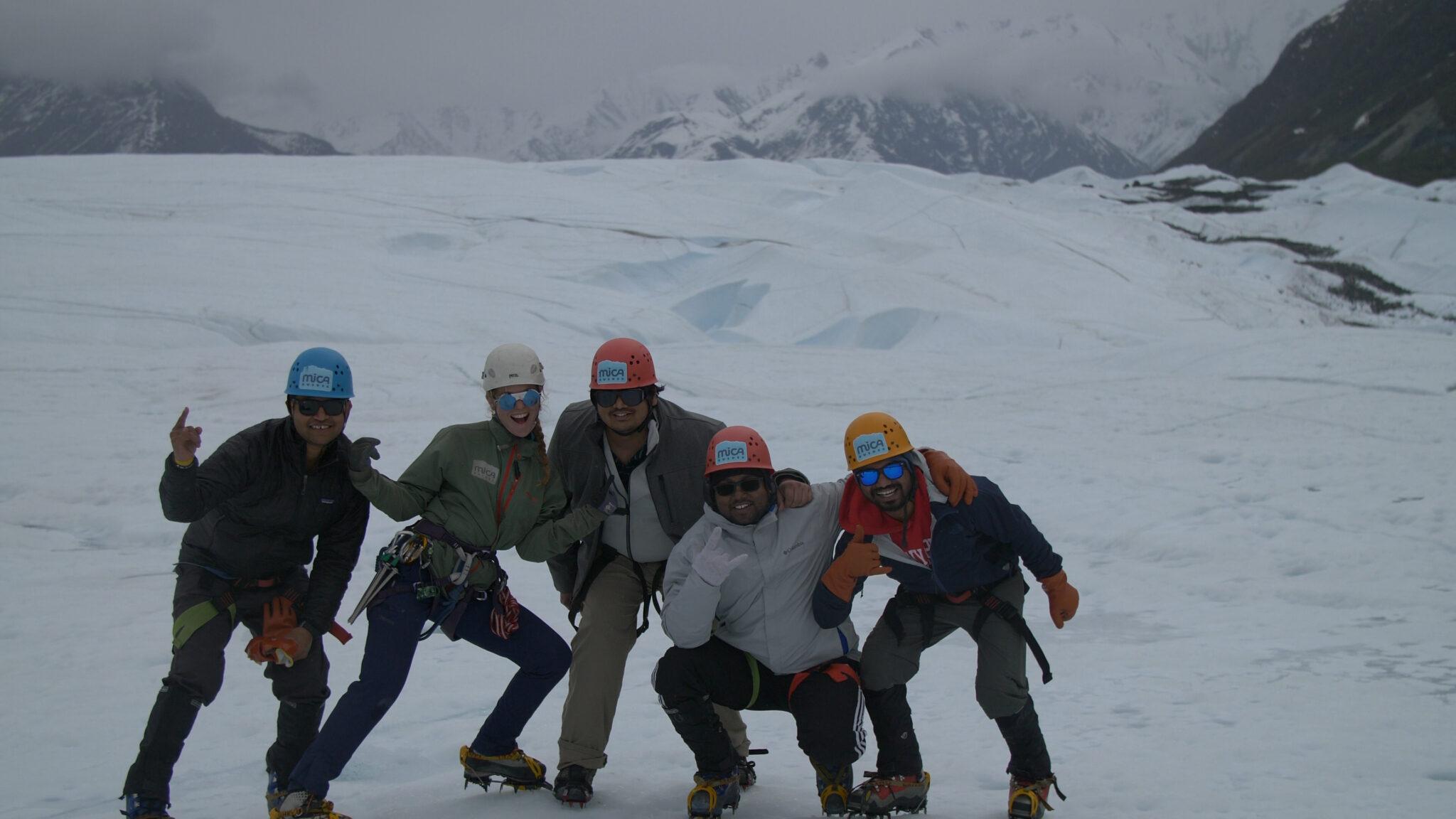 Fun on Matanuska Glacier