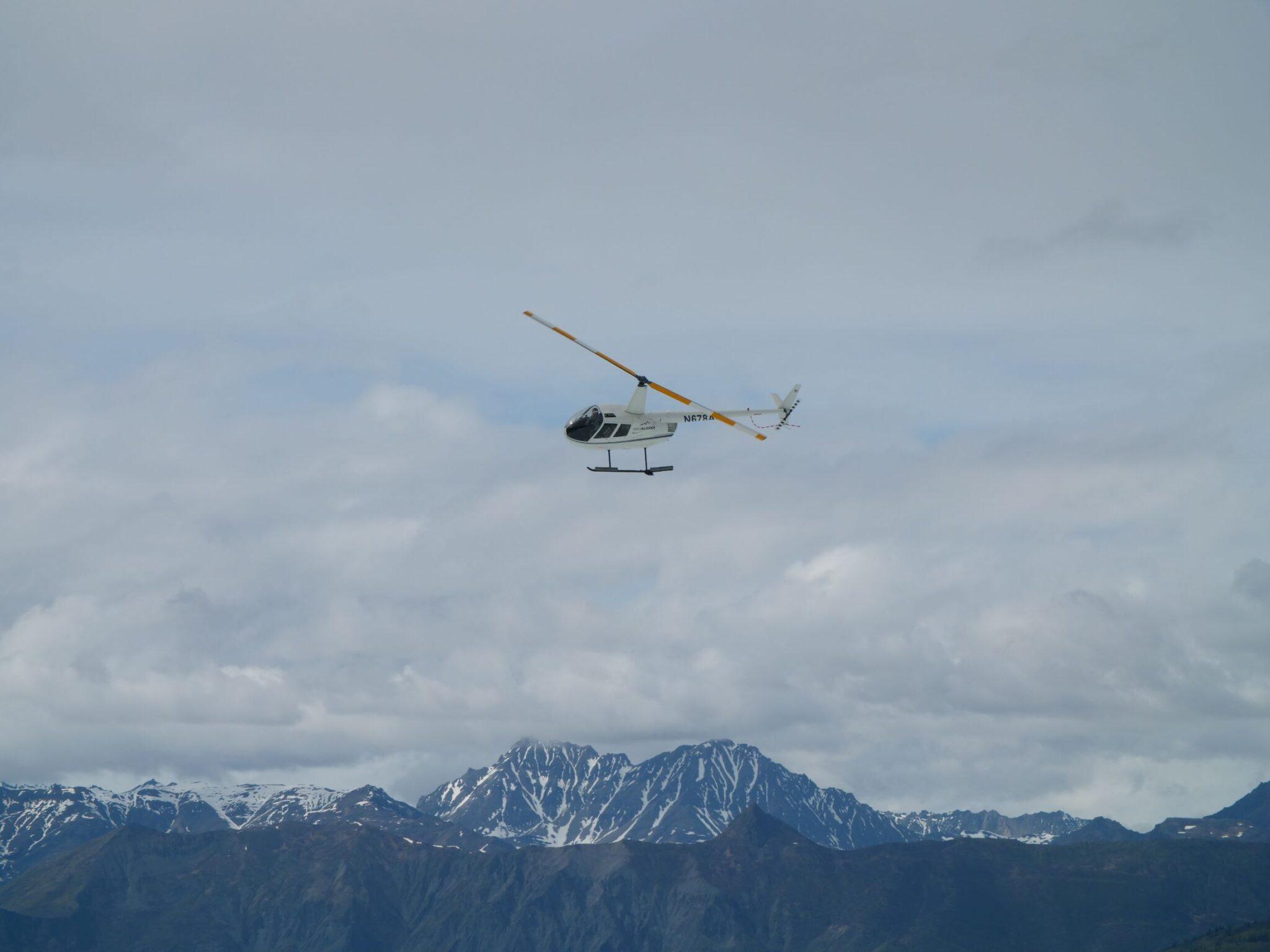 helicopter tours Matanuska
