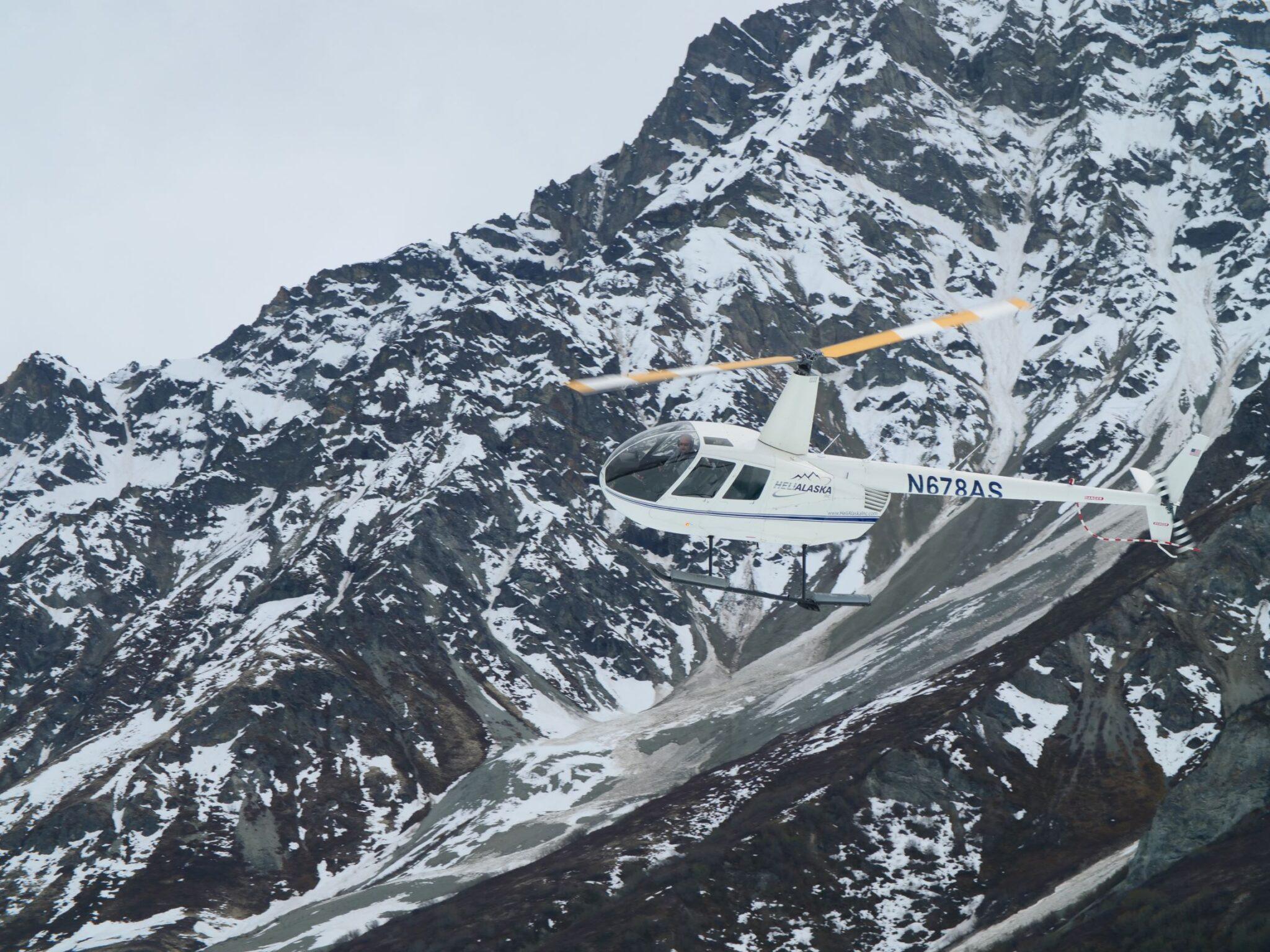 helicopter adventure Alaska