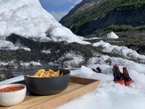 Glacier Overnight beverages