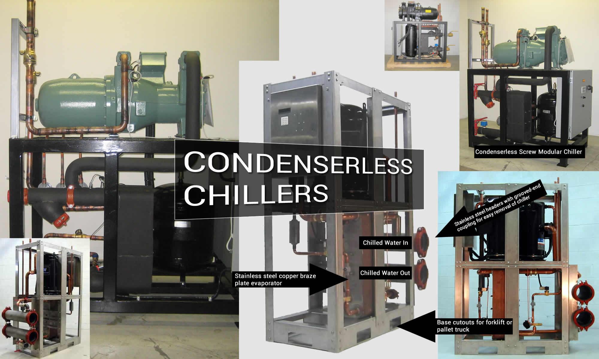Condenserless Modular Chillers