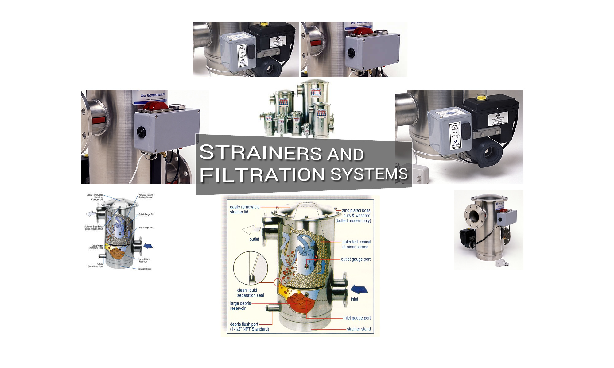 Strainers and Filtration Systems