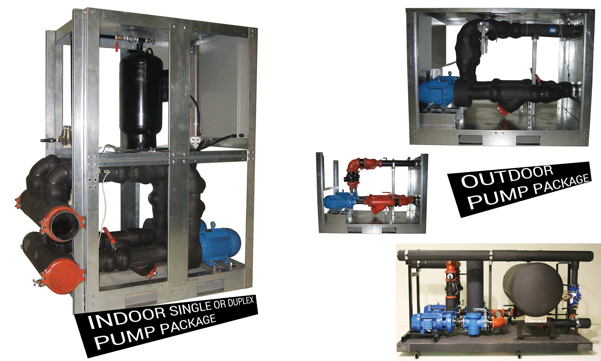 Single and Dual Pump Packages