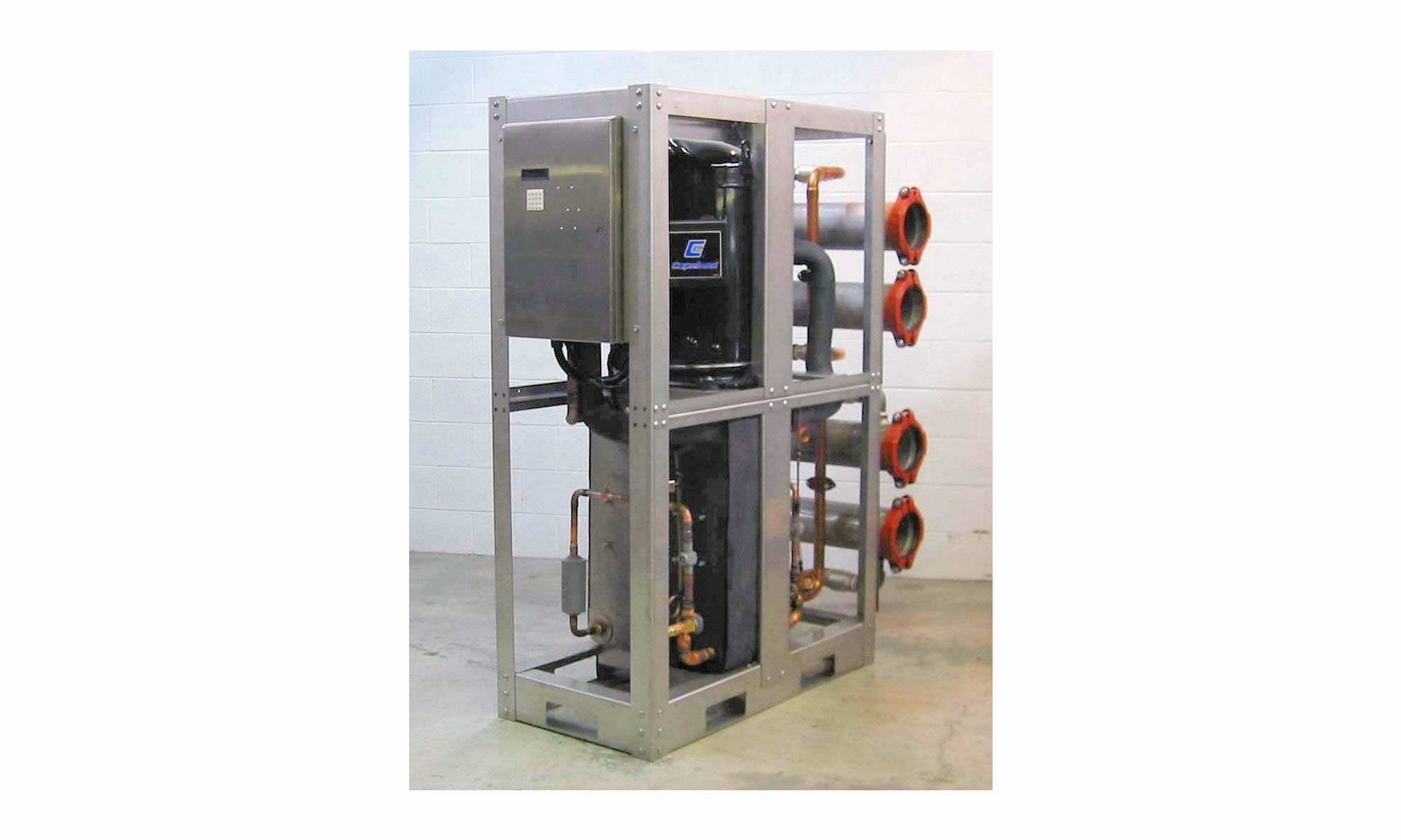 Water Cooled Dual Scroll Compressor Chillers