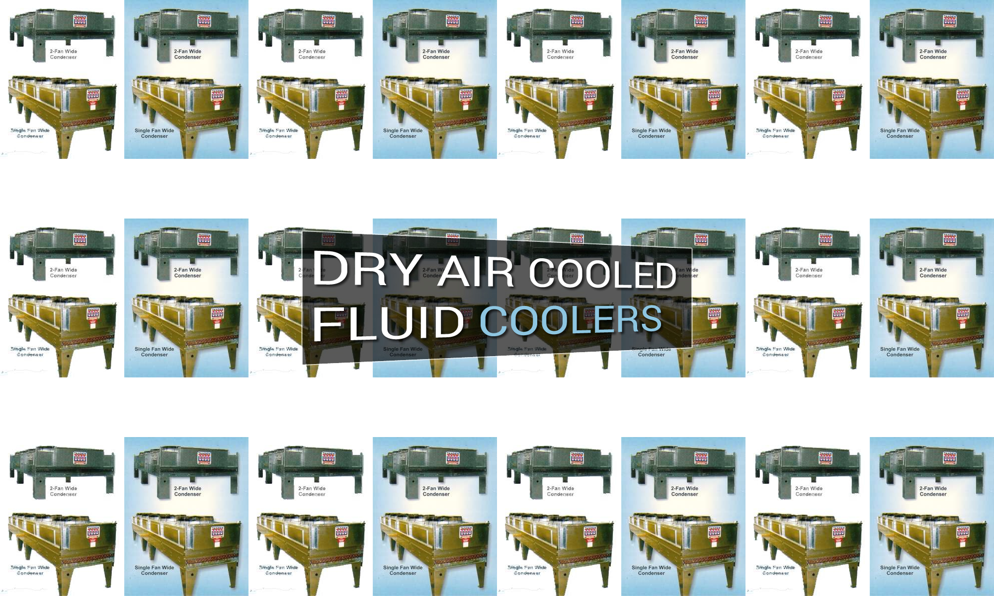 Dry Air Cooled Fluid Coolers