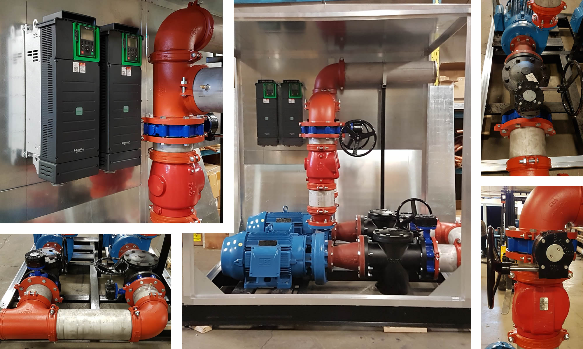 Pump Package For Air Cooled Chiller System