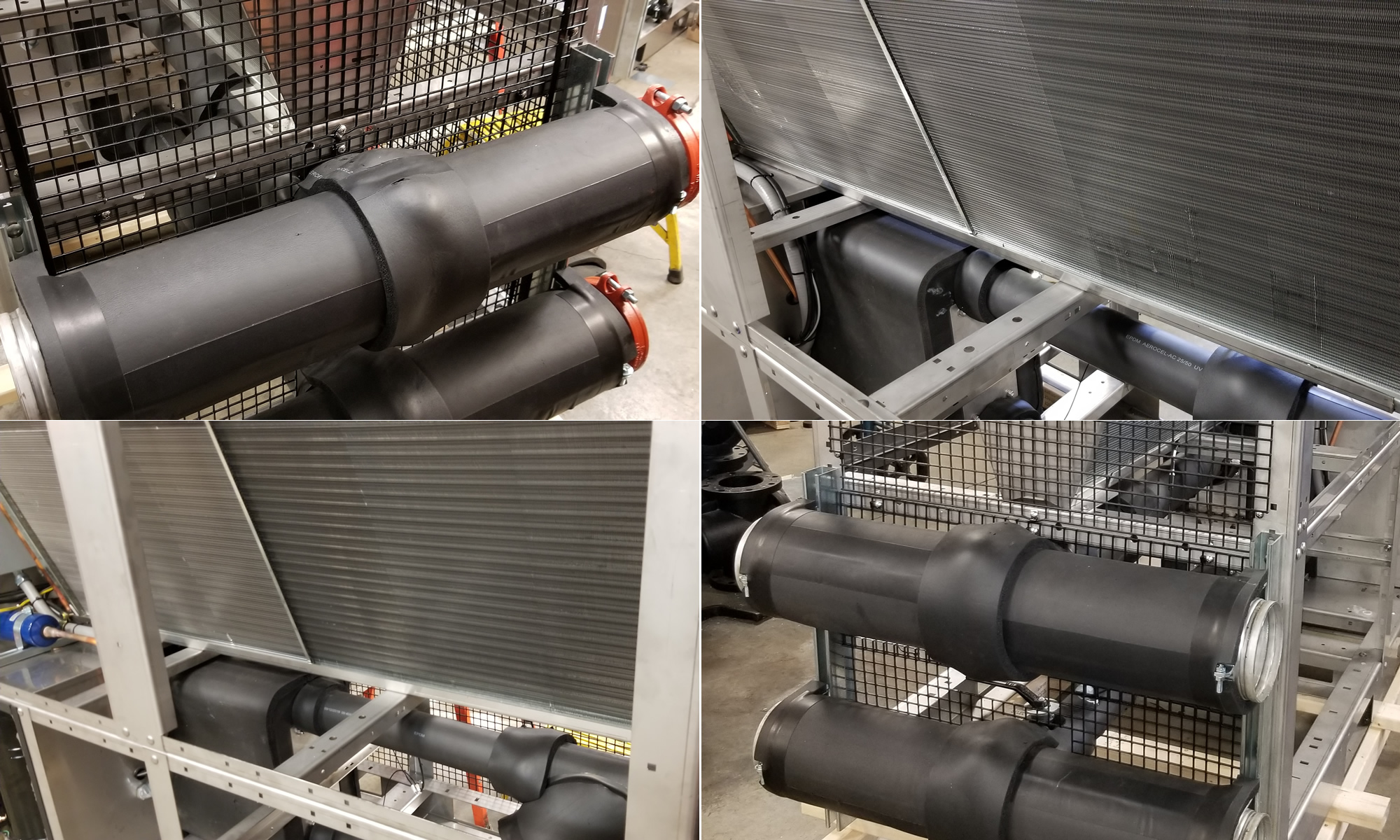 Outdoor Air Cooled Chillers With Duplex Pump Package