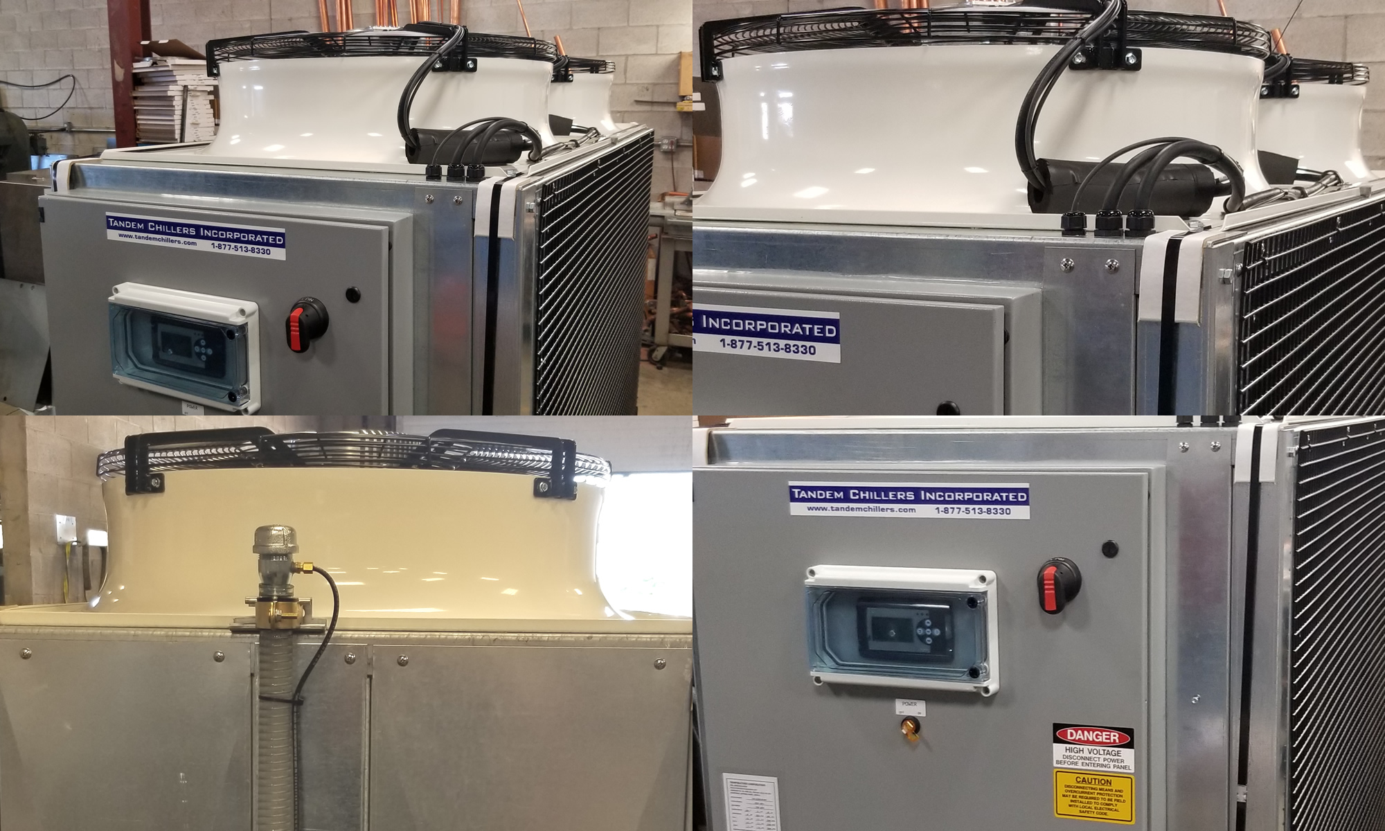 Air Cooled Chiller For Food Production