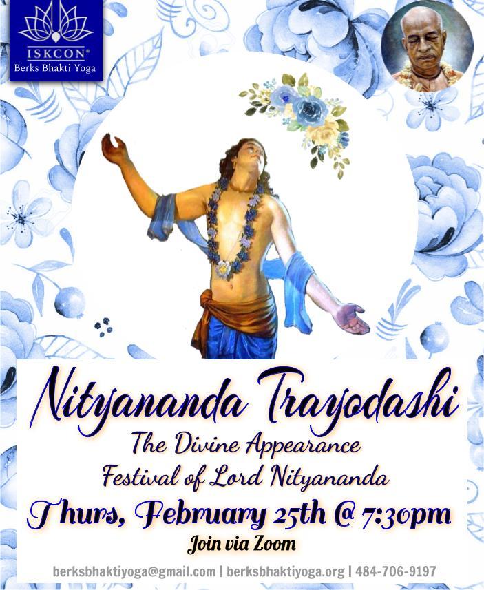 Nityanand Trayodasi Celebration @ Online