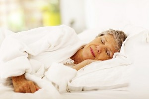 senior sleep daylight savings time