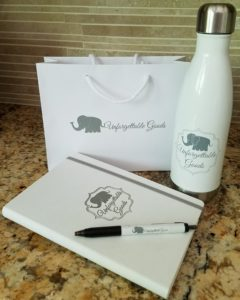Branded Journals, Pens and Water Bottles