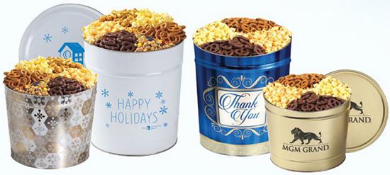 Branded Popcorn Tins