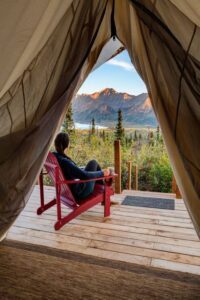Alaska Glamping Luxury
