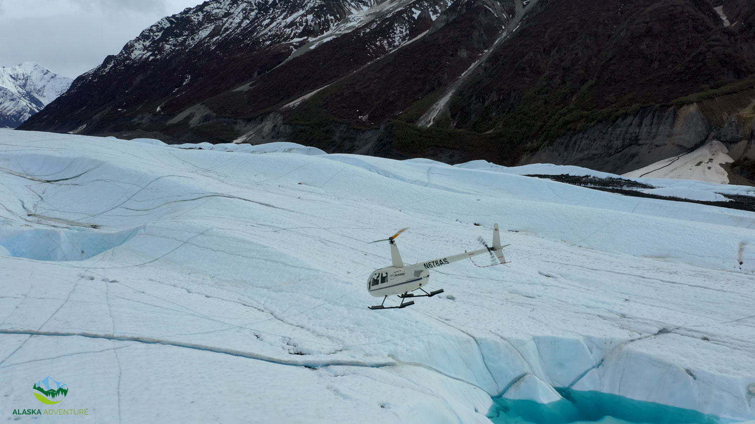 Alaska Helicopter Ice Climbing