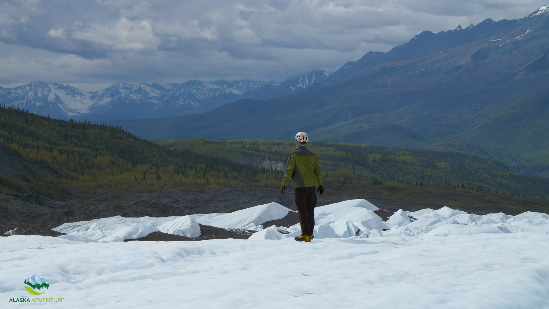 Standby on Matanuska Glacier