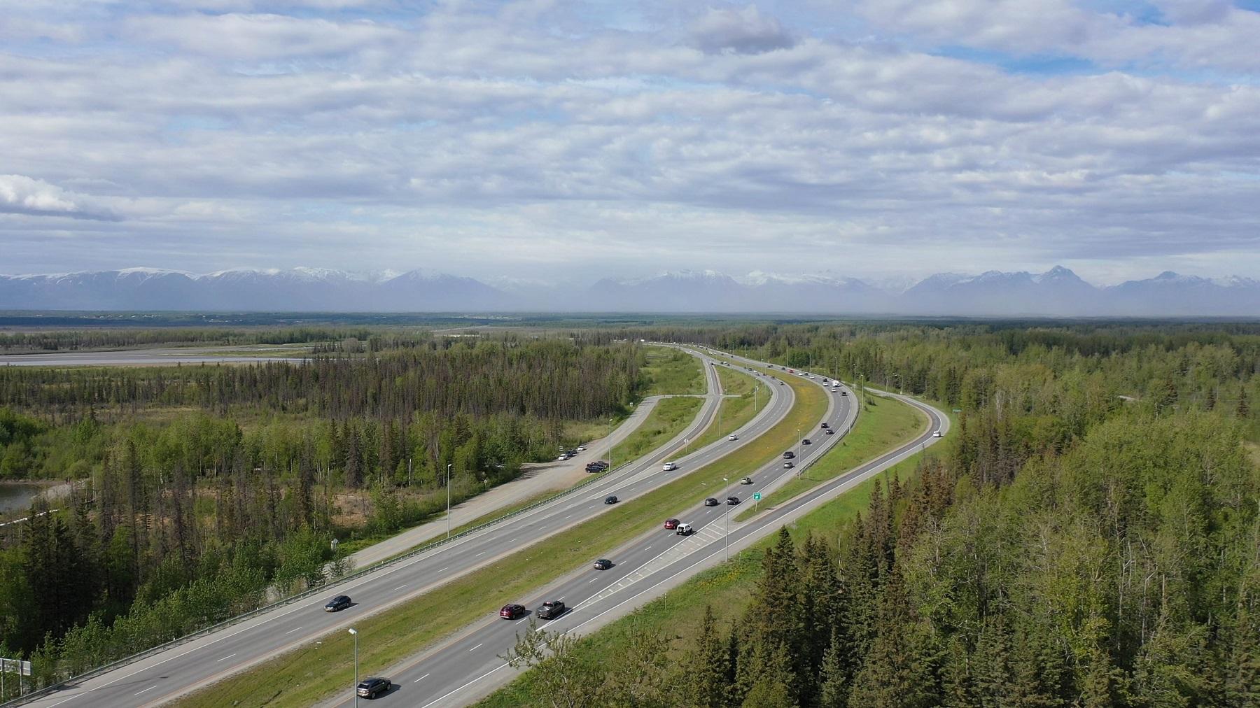 Highways into Anchorage