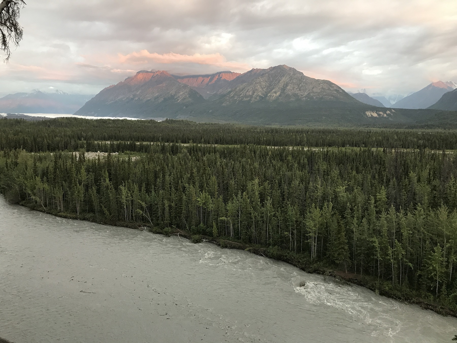 Mountains River Alaska