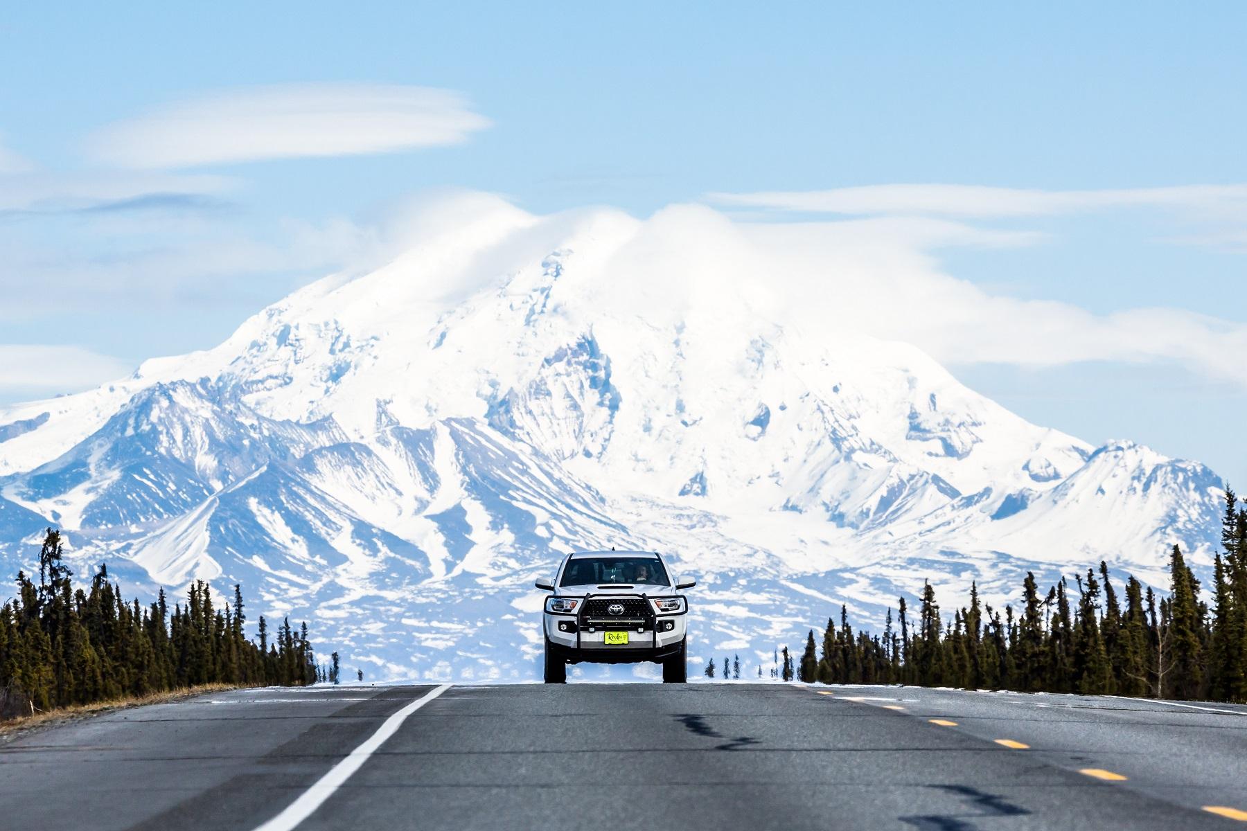 Truck Alaska Range