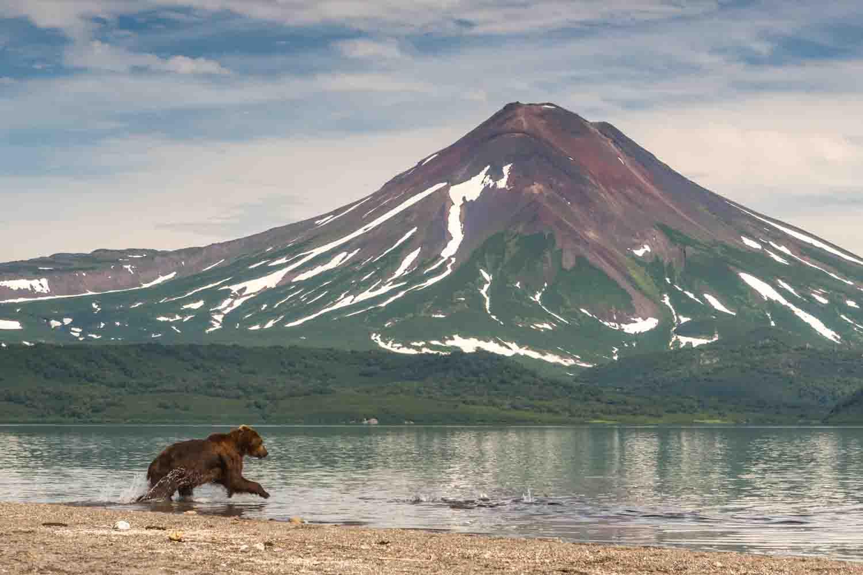Kamchatka Alaska Volcano
