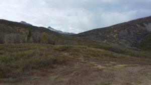 Alaska tundra and mountains