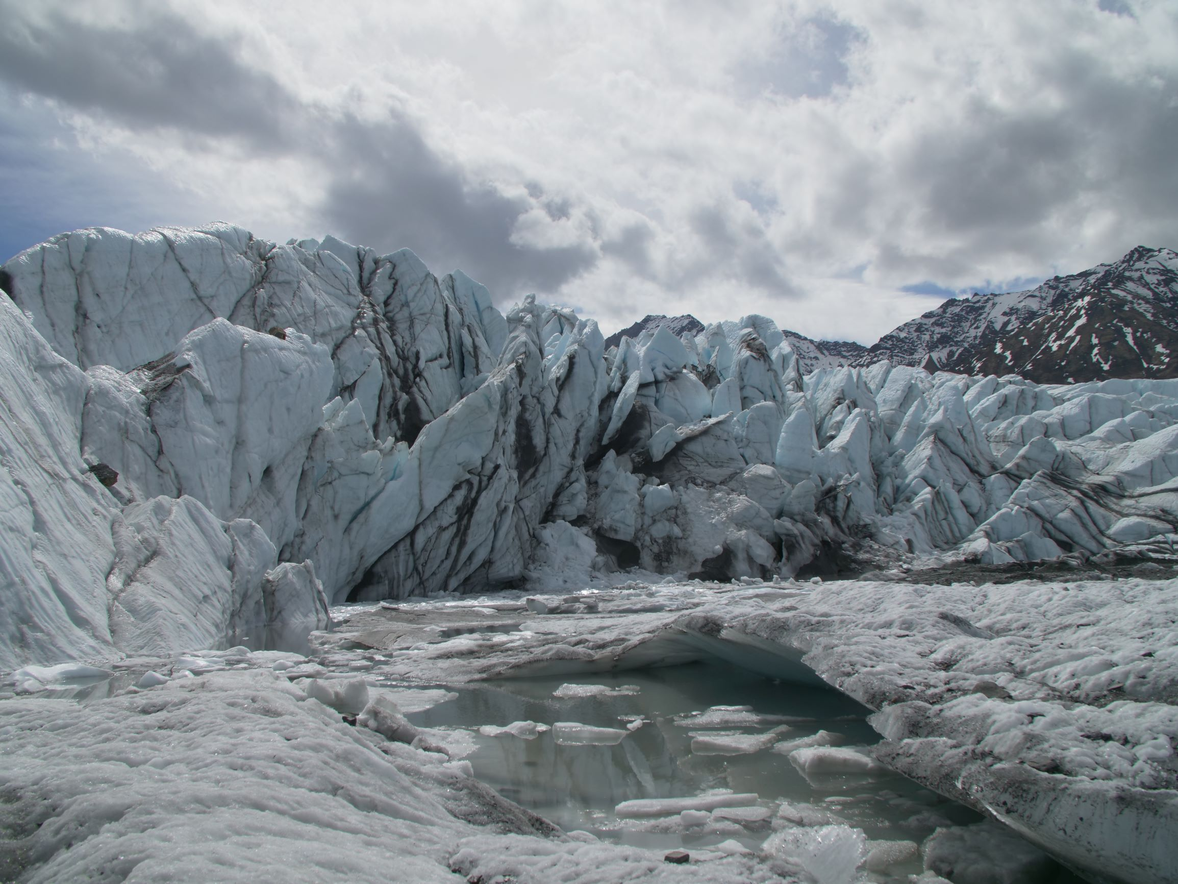 Matanuska ice fins