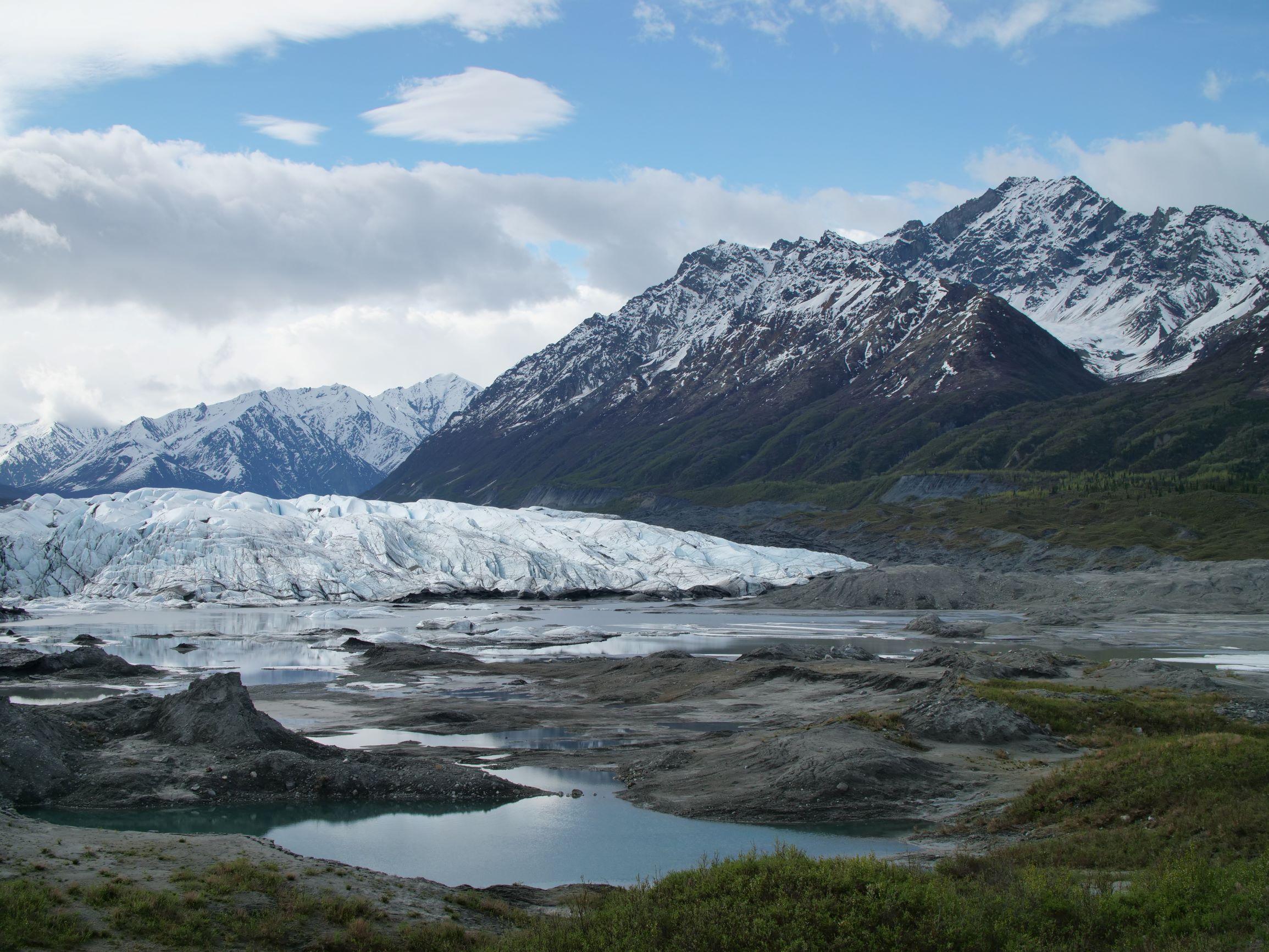 Front of Alaska Glacier