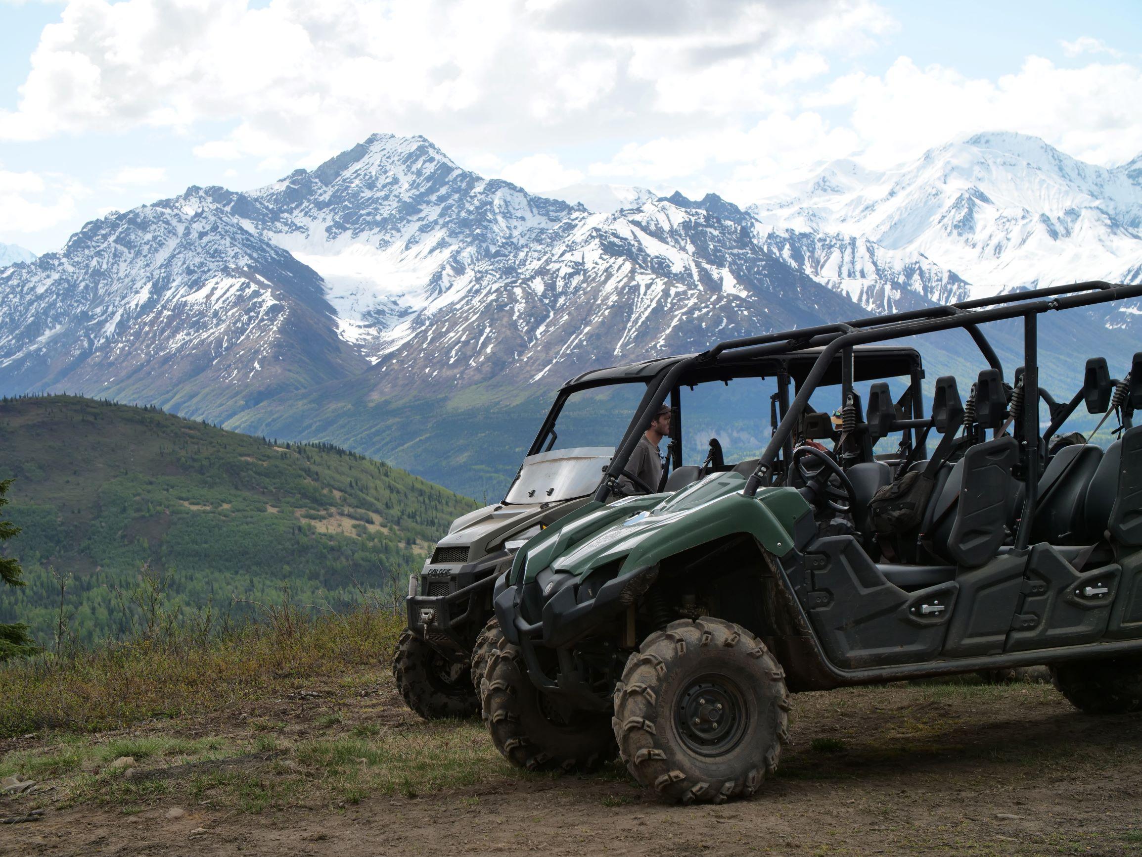 ATVs and Alaskan mountains