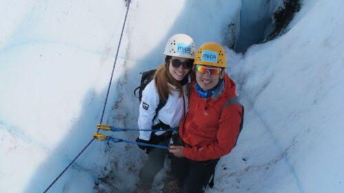 couple explores Matanuska