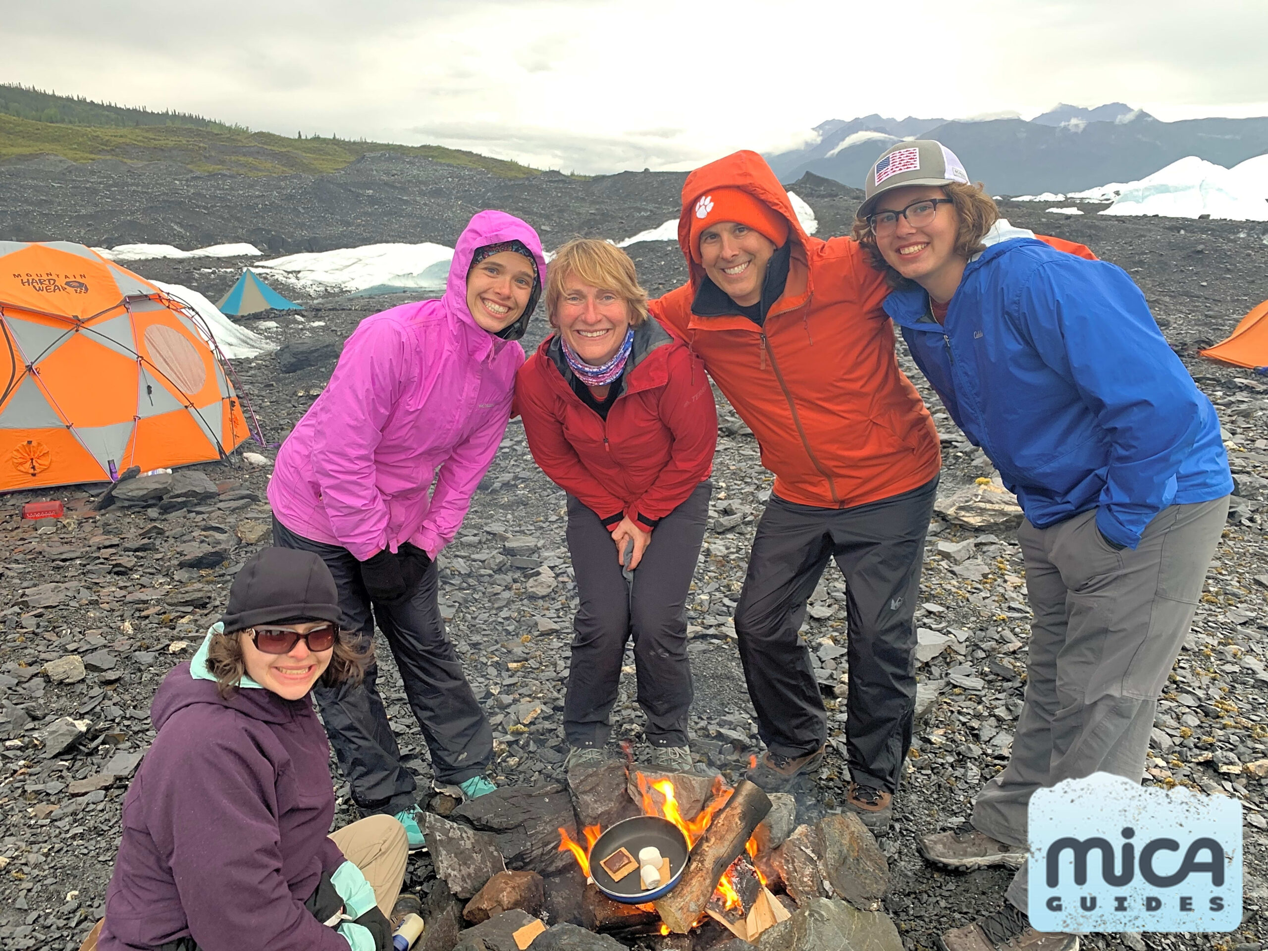 MICA Guides camping