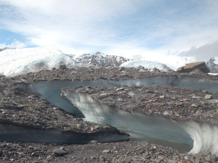 Matanuska glacier features