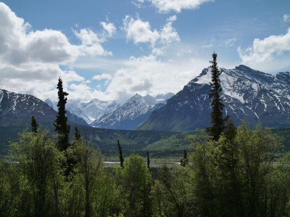 Scenic Glacial Valley