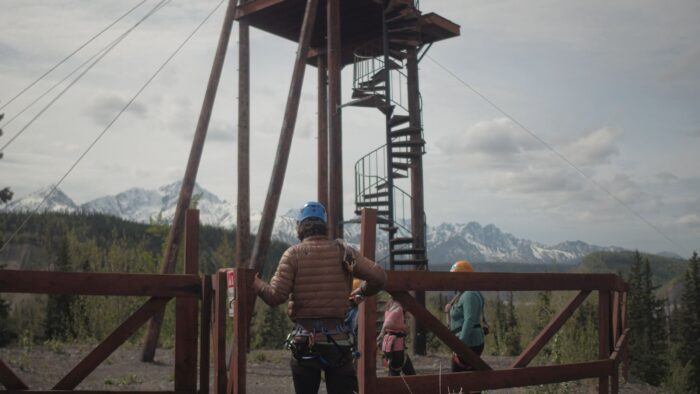 zipline tower and tour