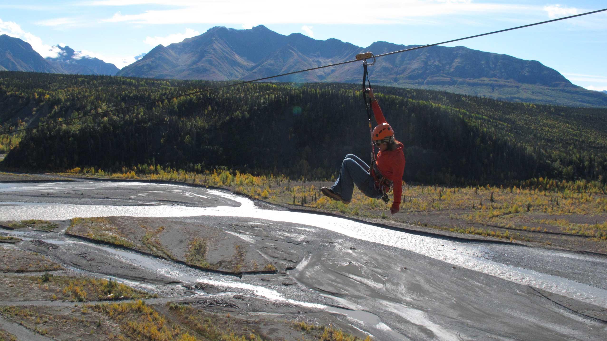 Chugach mountain zipline