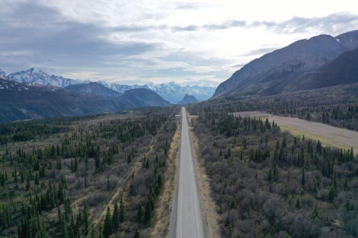 scenic view of Matanuska Valley